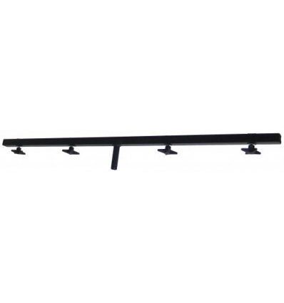 Firkant T-bar 100 cm, spigot Ø25 mm