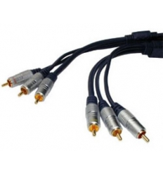 Composite video kabel 10 m
