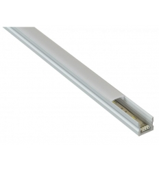 Alu-liste til LED-strip 15x15mm - 2 meter