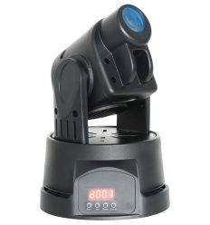 Mini Moving Head Spot - 14W LED med DMX og musikstyring