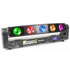 MHL510 Color Sweeper 5 x 10W LED - DMX og musikstyring