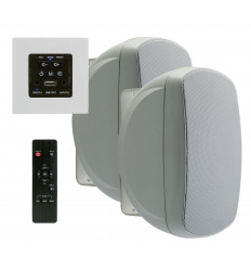 WALLAMP - USB PACK - 2x30W In-wall Hi-Fi