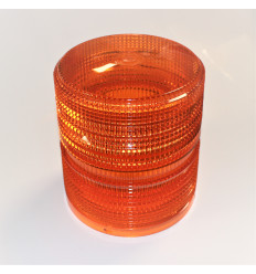 ROAD FLASH Blitzblink - 14,7x14cm - Orange - 12/24v