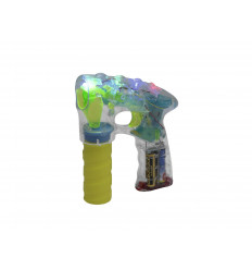 Sæbeboble pistol med LED lys - B-5 LED Bubble Gun