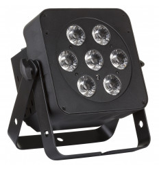 LED PLANO 6in1 - 7x12W RGBWA
