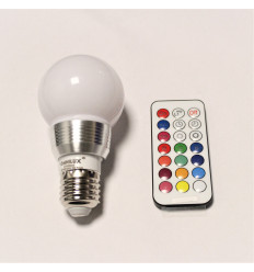 Omnilux LED A60 Multicolor With Remote Control - 5W E27